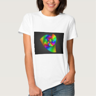 Abstract color design art t shirts