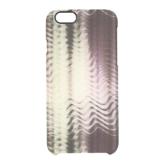 Abstract color gradient iPhone case with waves