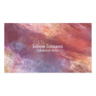 Abstract Color Pack Of Standard Business Cards