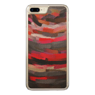 Abstract Color Paint Brush Stroke #22 Carved iPhone 8 Plus/7 Plus Case