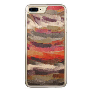 Abstract Color Paint Brush Stroke #23 Carved iPhone 8 Plus/7 Plus Case
