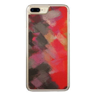 Abstract Color Paint Brush Stroke #25 Carved iPhone 8 Plus/7 Plus Case