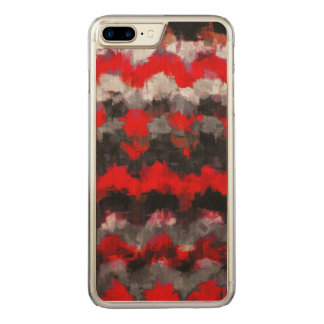 Abstract Color Paint Brush Stroke #3 Carved iPhone 8 Plus/7 Plus Case