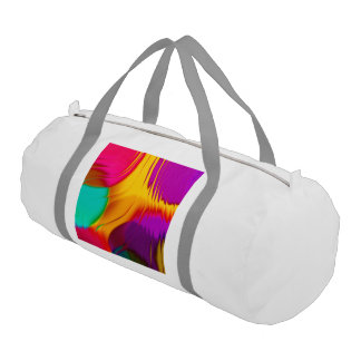 abstract color parade (L) Gym Duffel Bag
