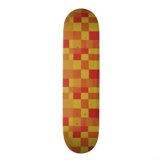 Abstract Color Patchwork Pattern 280913 Skateboards