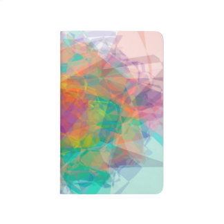 Abstract Color Pattern White On Background Journal