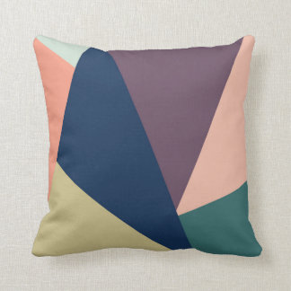 Abstract color pillow
