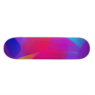 Abstract Color Relaxation Skate Decks