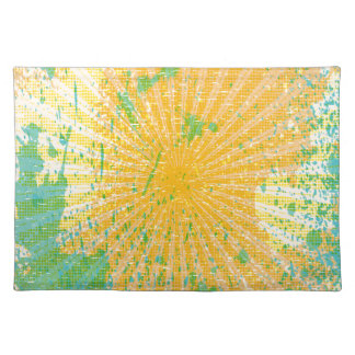 Abstract, Color splash Place Mats