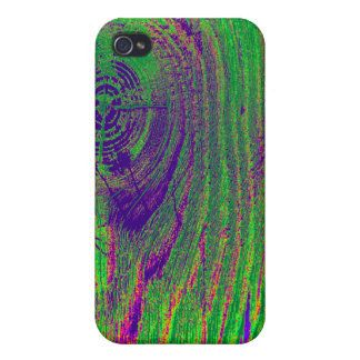 Abstract Color Wood Texture  Photo iPhone 4 Case