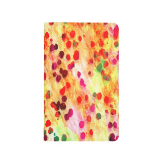 Abstract Colored Dots Background Journal