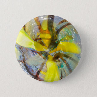 abstract colored glasses 6 cm round badge