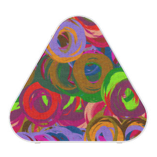 Abstract Colored Pastel Pattern 3 Speaker