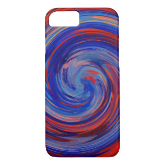 Abstract Colored Twist Art Background #27 iPhone 7 Case