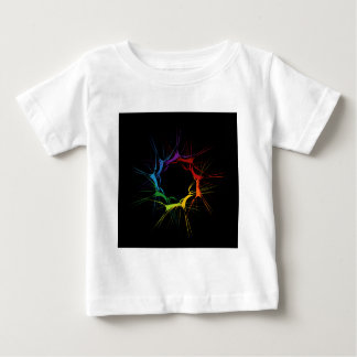 Abstract colorful background baby T-Shirt