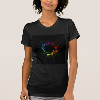 Abstract colorful background shirt