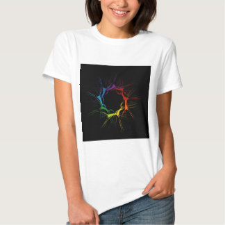 Abstract colorful background tee shirt