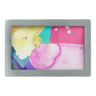 ABSTRACT COLORFUL BELT BUCKLES