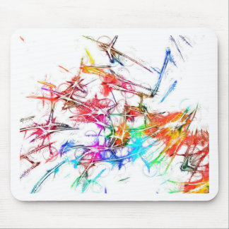Abstract Colorful Design Mousepad
