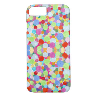 Abstract colorful dots iPhone 8/7 case