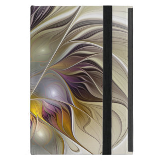 Abstract Colorful Fantasy Flower Modern Fractal Covers For iPad Mini