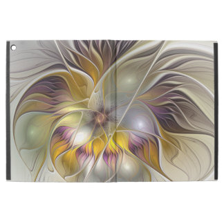 """Abstract Colorful Fantasy Flower Modern Fractal iPad Pro 12.9"""" Case"""