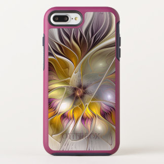 Abstract Colorful Fantasy Flower Modern Fractal OtterBox Symmetry iPhone 8 Plus/7 Plus Case
