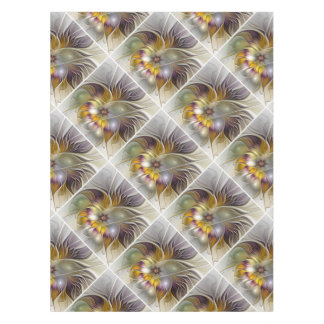 Abstract Colorful Fantasy Flower Modern Fractal Tablecloth
