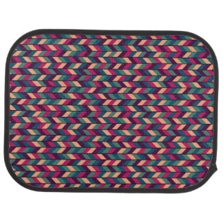 Abstract Colorful Industrial Car Mat