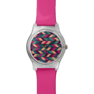 Abstract Colorful Industrial Watch
