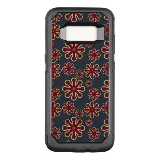 Abstract Colorful Jacks Pattern OtterBox Commuter Samsung Galaxy S8 Case