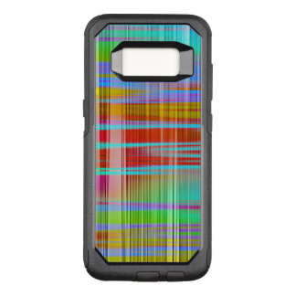 Abstract Colorful Line Pattern OtterBox Commuter Samsung Galaxy S8 Case