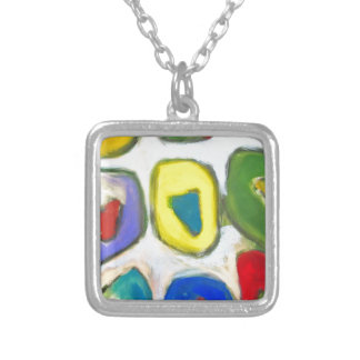 Abstract Colorful Nine Muses Custom Jewelry