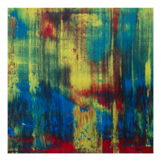 Abstract Colorful Painting 2 Poster