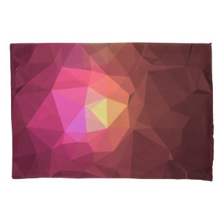 Abstract & Colorful Pattern Design - Redden Sky Pillowcase
