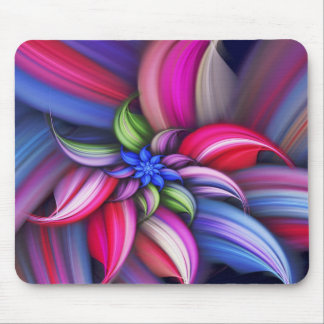 Abstract Colorful Pattern Mouse Pad