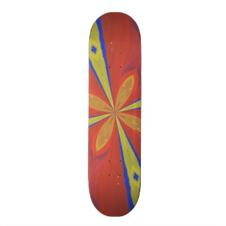Abstract colorful pattern custom skateboard
