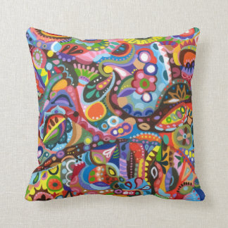 Abstract Colorful Pillow