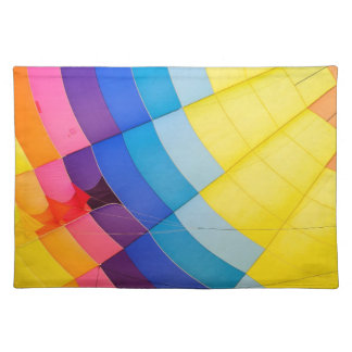 Abstract colorful placemat