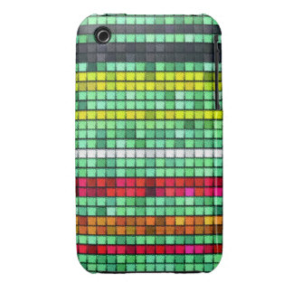 Abstract  Colorful quilt fabric iPhone 3 Case-Mate Case