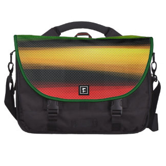 Abstract Colorful Rainbow Stripes Laptop Bag