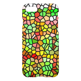 Abstract colorful stained glass iPhone 8/7 case