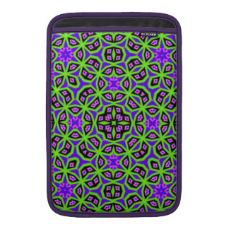Abstract colorful trendy pattern sleeve for MacBook air