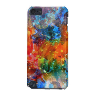 Abstract Colorful Watercolors Background iPod Touch (5th Generation) Cases