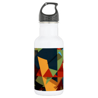 Abstract colors 532 ml water bottle
