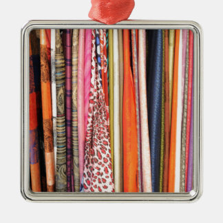 Abstract colors christmas ornament