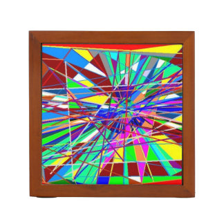 Abstract Colors Desk Organiser