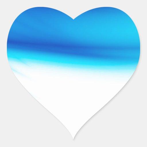 Abstract Colors Hero Bleeds Heart Stickers