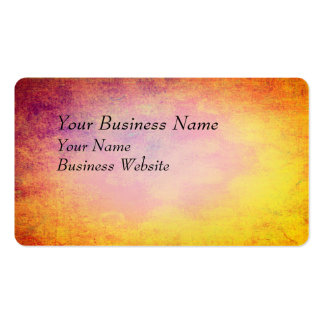 Abstract colors of summer sun pack of standard business cards
