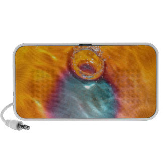 Abstract Colors Oil Drip Drop iPhone Speaker